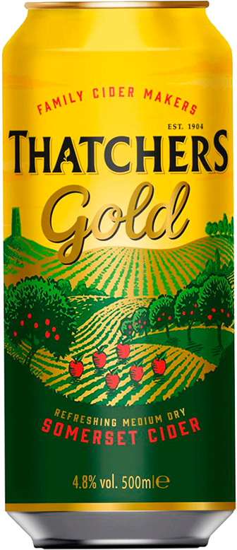 Thatchers, Gold, in can, 0.5 л.