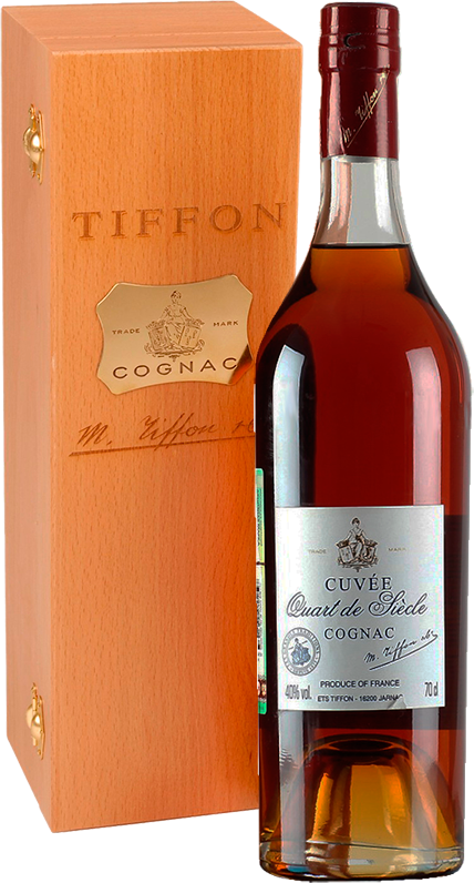 Tiffon, Cuvee Quart de Siecle, in wooden box, 0.7 л.