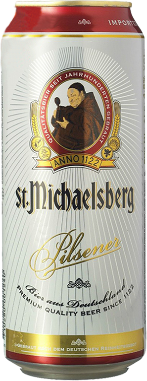 St. Michaelsberg, Pilsener, in can, 0.5 л.