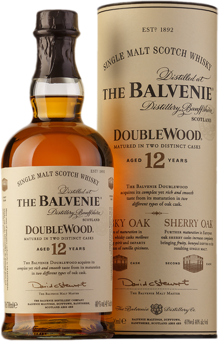 Balvenie, Doublewood, 12 Years Old, in tube, 0.7 л.