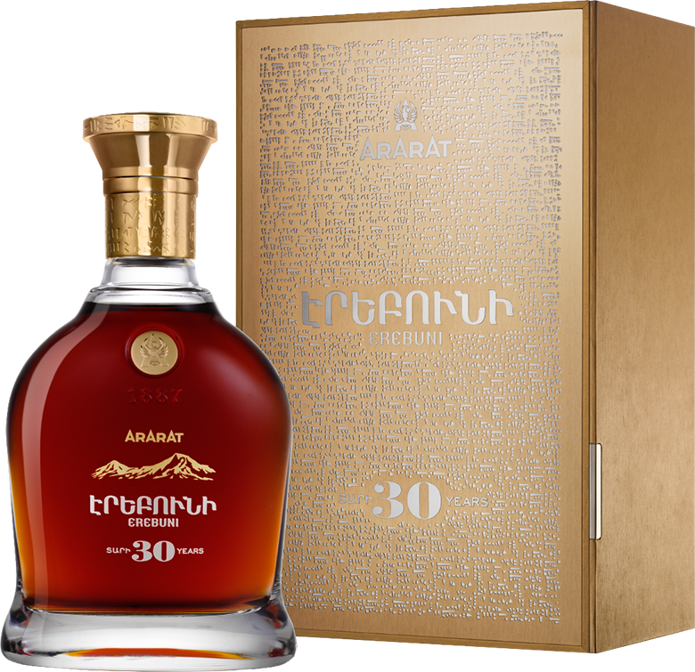 Ararat Erebuni, 30 years Old, in gift box, 0.7 л.