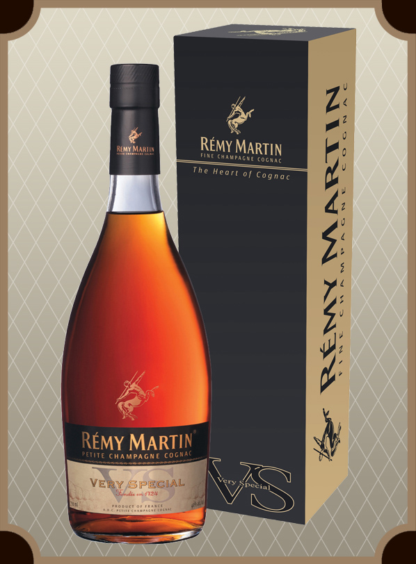 Коньяк Remy Martin V S  in box 1 0 л  (Реми Мартин В С  в п