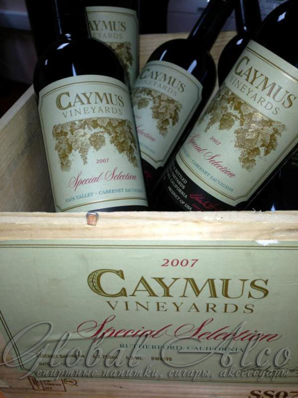 Разное CAYMUS VINEYARDS (КЕЙМУС ВИНЬЯРДС)
