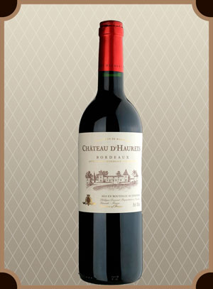 Chateau d.Haurets, Bordeaux AOC Red (Шато д.Орэ, Бордо)