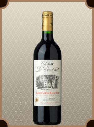 Chateau Le Castelot, Saint-Emillion Grand Cru AOC (Шато Ле Кастело)