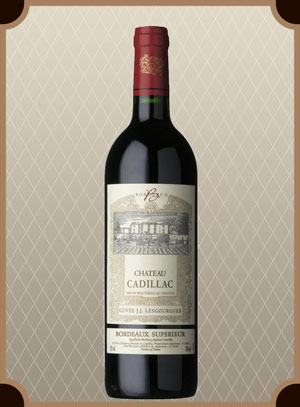 Chateau Cadillac, Cuvee J.J. Lesgourgues (Шато Кадияк, Кюве Ж.Ж. Лесгург)