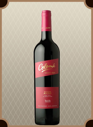 Colome Malbec Estate (Коломе Мальбек Эстейт)