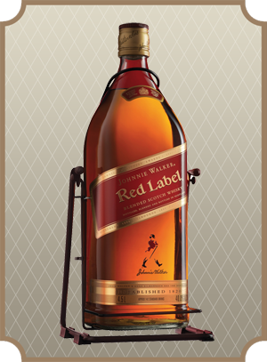 Johnnie Walker, Red Label 4.5 л. (Джонни Уокер, Рэд Лэйбл)