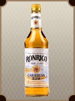 Rum Ronrico Gold Label 1.0 л. (Ронрико Голд Лейбл)