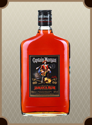Captain Morgan Black 0.5 л. (Капитан Морган Блэк)
