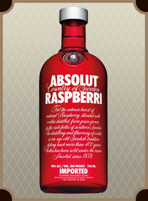 Absolut Raspberry 0.7 л. (Абсолют Малина)