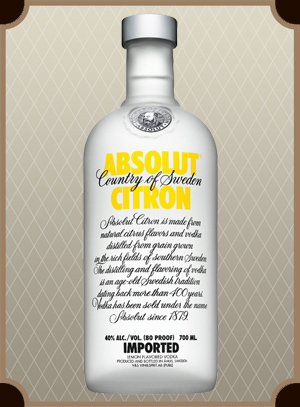 Absolut Citron 0.7 л. (Абсолют Лимон)