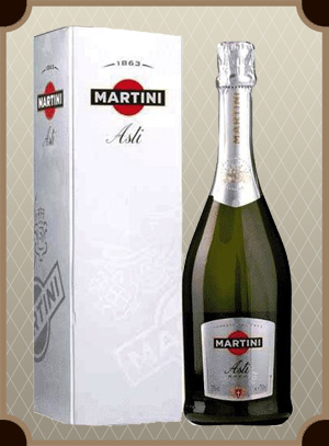 Asti Martini gift box (Асти Мартини в п/у)