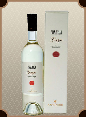 Grappa Tignanello (Граппа Тиньянелло)