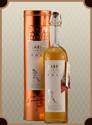 Grappa Sapra Barrique di Poli (Граппа Баррик ди Поли)