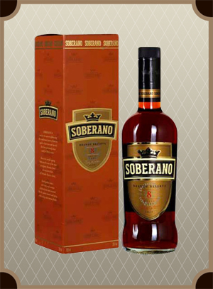 Brandy Soberano 8 gift box (Соберано 8 в п/у)