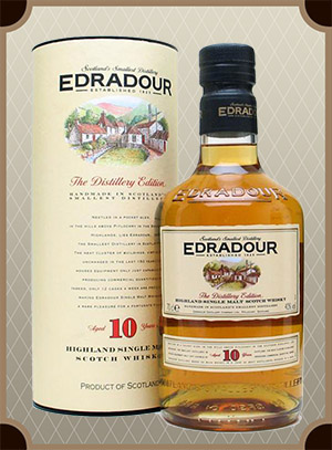 Edradour 10 Years Old, gift box 0.7 л. (Эдрадур 10 лет)