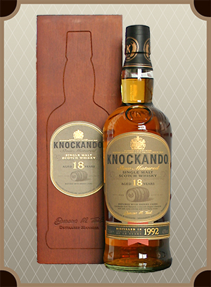 Knockando 18 Years Old, gift box (Нокэнду 18 лет)