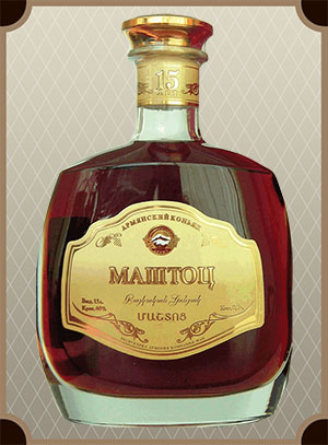 Mashtoc 15 Years Old, gift box (Маштоц 15-лет, в п/у)