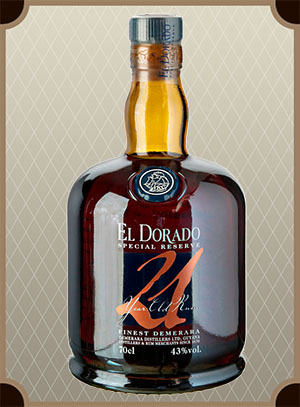 El Dorado Special Reserve 21 Years Old, gift box (Эль Дорадо Спейшл Резерв 21-летний в п/у)