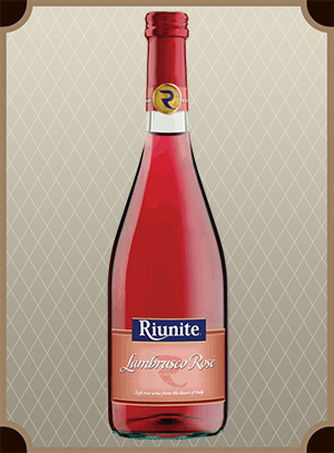 Riunite, Lambrusco Rose, Emilia IGT (Риуните, Ламбруско Розе, Эмилия)