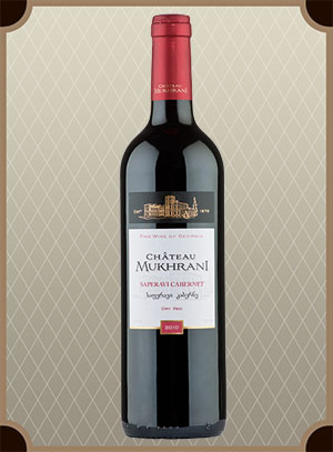 Chateau Mukhrani, Saperavi Cabernet (Шато-Мухрани, Саперави Каберне)