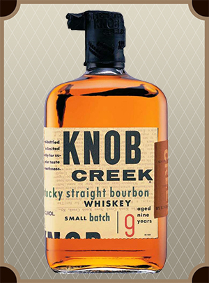 Bourbon Knob Creek aged 9 years (Бурбон Ноб Крик 9 лет)