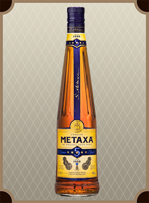 Brandy Metaxa 5* 0.5 л. (Бренди Метакса 5*)