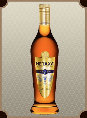 Brandy Metaxa 7* 0.5 л. (Бренди Метакса 7*)