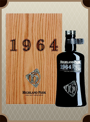 Highland Park 1964 Wooden box (Хайлэнд Парк 1964)