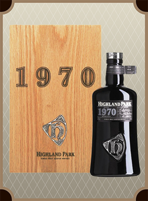 Highland Park 1970 Wooden box (Хайлэнд Парк 1970)