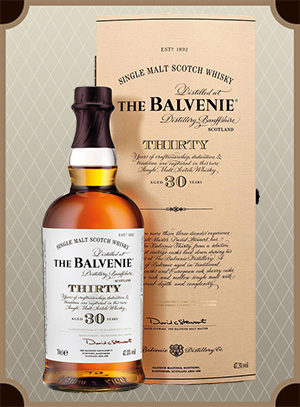Balvenie Thirty, 30 Years Old, gift box (Балвени 30 лет)