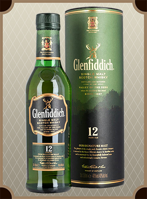 Glenfiddich 12 Years Old 0.375 л. (Гленфиддик 12 лет)