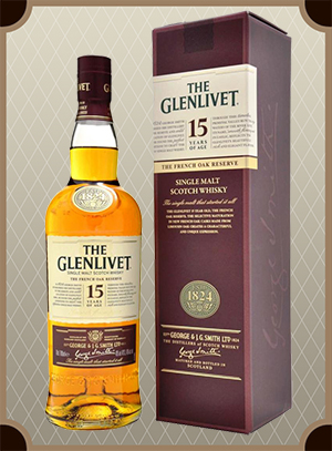 The Glenlivet 15 years, with box (Гленливет 15 лет)