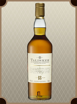 Talisker malt 18 years old (Талискер молт 18 лет)