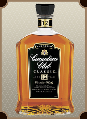 Canadian Club Classic aged 12 years (Канадиан Клаб Классик 12 лет)