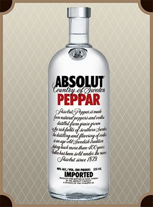 Absolut Peppar 0.5 л. (Абсолют Перец)