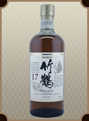 Nikka Taketsuru Pure Malt 17 years old (Никка Такэцуру Пьюэ Молт 17 лет)