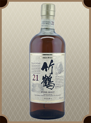 Nikka Taketsuru Pure Malt 21 years old (Никка Такэцуру Пьюэ Молт 21 год)