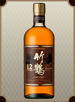Nikka Taketsuru Pure Malt 12 years old (Никка Такэцуру Пьюэ Молт 12 лет)