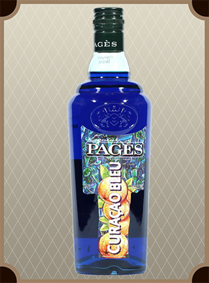 Liquor Pages Curacao Bleu (Пажес Кюрасао Блю)