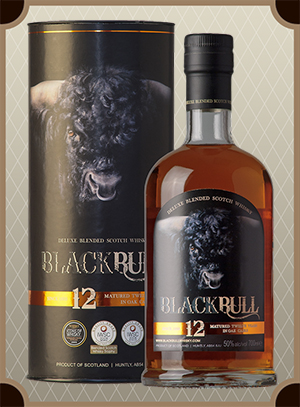 Black Bull 12 Years Old, Blended Scotch Whisky (Блэк Булл 12 лет в п/у)
