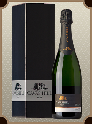 Cavas Hill, Cava Reserva Oro Brut in box (Кавас Хилл, Кава Резерва Оро Брют в п/у)