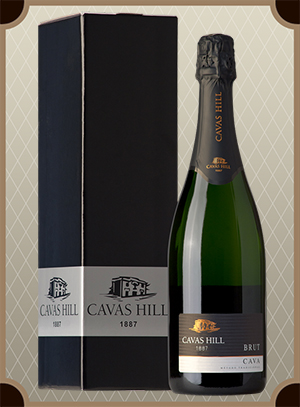 Cavas Hill, Cava Brut in box (Кавас Хилл, Кава Брют в п/у)