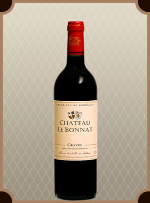 Chateau Le Bonnat, Graves AOC Rouge (Шато Ле Бонна Руж)