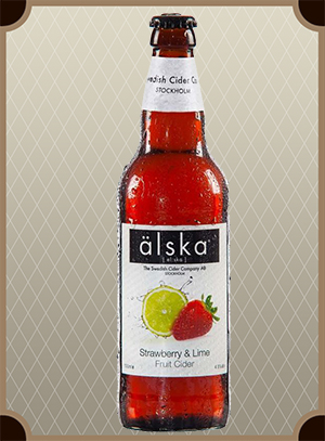 Alska «Strawberry & Lime» 0,5 л. (Алска, Клубника и Лайм)