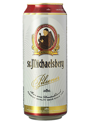 St. Michaelsberg Pilsener, in can 0,5 л. (Сент Михельсберг Пилснер в ж/б)