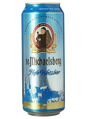 St. Michaelsberg Hefe-Weissbier, in can 0,5 л. (Сент Михельсберг Хефе-Вайсбир в ж/б)