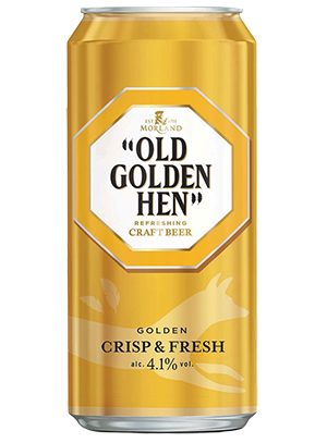 Greene King, Old Golden Hen, in can 0,5 л. (Грин Кинг, Олд Голден Хэн в ж/б)