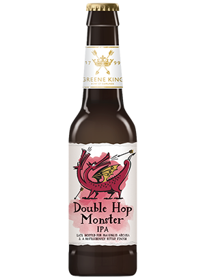 Greene King, Double Hop Monster IPA 0,33 л. (Грин Кинг, Дабл Хоп Монстр Ипа)